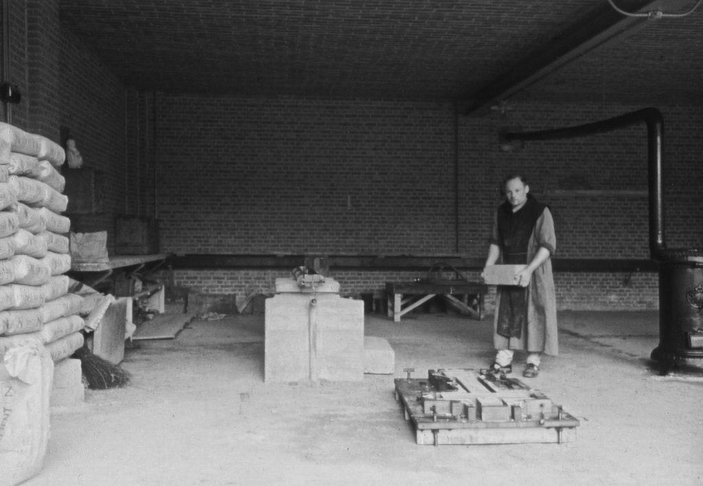 abdij Westmalle - werkhuis beton